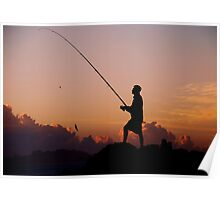 SEASCAPE FISHING Poster