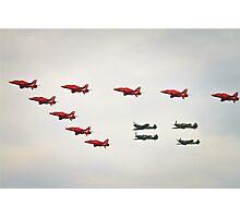 memorial flight Photographic Print