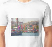 final. volvo ocean race. end of  race in Lisbon. Unisex T-Shirt