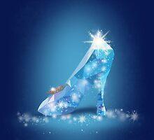 Cinderella Glass Shoe by syafickle