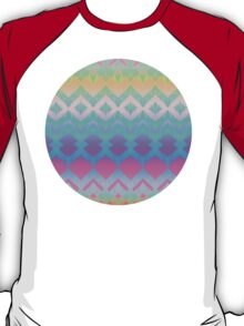 Rainbow Ikat Pattern T-Shirt