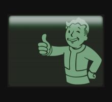 Fallout Vault Boy Pip-Boy by darksilly