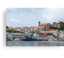 Harbor of St. George's Canvas Print