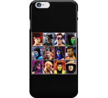 Mortal Kombat 2 Character Select iPhone Case/Skin