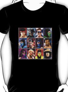 Mortal Kombat 2 Character Select T-Shirt