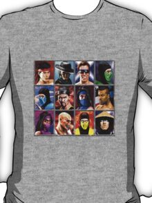 Mortal Kombat 2 Character Select T-Shirt