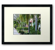 Magnificent Homes Framed Print