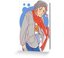 Modern Anders from Dragon Age Greeting Card