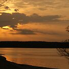 Winter Sun on the Tennessee River by Ruth Lambert