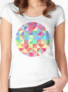 Rainbow Prisms Women's Fitted Scoop T-Shirt