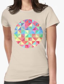 Rainbow Prisms Womens Fitted T-Shirt