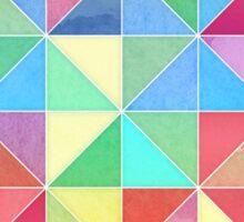 Rainbow Prisms Sticker