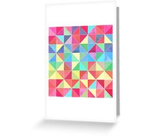 Rainbow Prisms Greeting Card