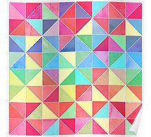 Rainbow Prisms Poster