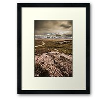 West Highlands Range Framed Print