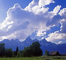 Teton Ranch #4 by Mike Norton