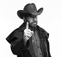 chuck norris warning by gymstedhead