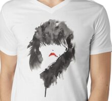 ink girl 1 Mens V-Neck T-Shirt