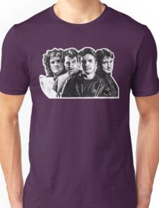 The Many Faces of Nathan Fillion Unisex T-Shirt