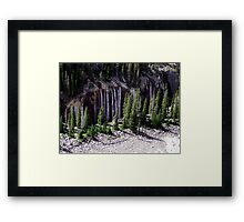 Ribbons of Water Framed Print