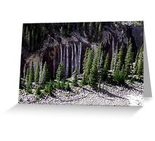 Ribbons of Water Greeting Card