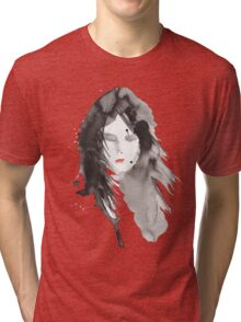 ink girl 2 Tri-blend T-Shirt