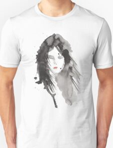 ink girl 2 Unisex T-Shirt