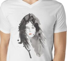 ink girl 2 Mens V-Neck T-Shirt