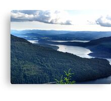 View From Saltspring Island Canvas Print