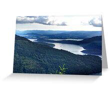 View From Saltspring Island Greeting Card