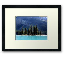 Landfall at Spirit Island Framed Print