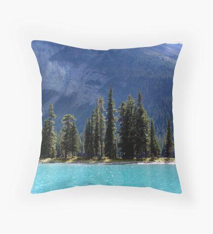 Landfall at Spirit Island Throw Pillow