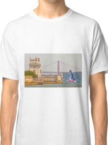 belem tower. sca girls team. volvo ocean race 2015.lisbon.portugal Classic T-Shirt