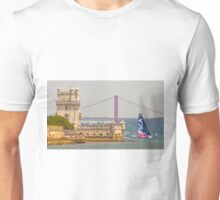 belem tower. sca girls team. volvo ocean race 2015.lisbon.portugal Unisex T-Shirt