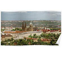 Prague Castle - St. Vitus Cathedral Poster