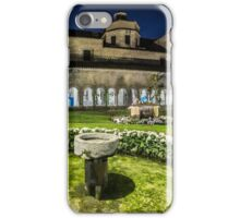 Girona Cathedral Cloisters (Catalonia) iPhone Case/Skin