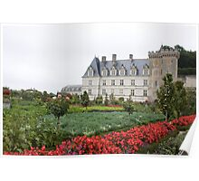 France Chateau Poster