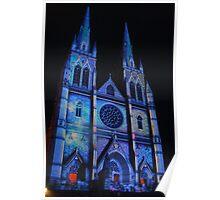 Spooky Blue St Marys Poster