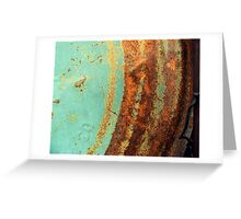 Run Rusty Greeting Card