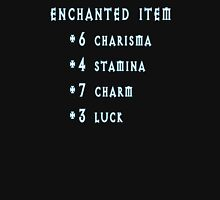 Enchanted Item Bonus Stats RPG T Shirt T-Shirt
