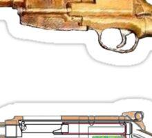 Mals gun Serenity n Firefly  Sticker