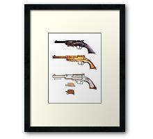 Mals gun Serenity n Firefly  Framed Print
