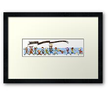 Dragon Age Inquisition chibis Framed Print