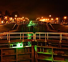Fort Augustus By Night by spoilmesweetie