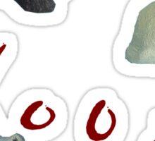 Woof ;  Sticker