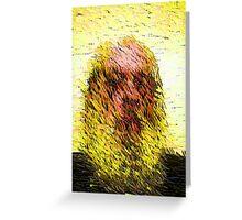 Old Man Descendin da Artist Greeting Card