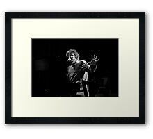 Don't Go Framed Print