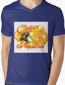 Jolly Cooperation! Mens V-Neck T-Shirt