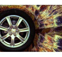 the wheel Photographic Print