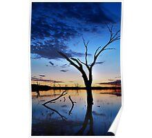Lake Fyans, Blue Lagoon Poster